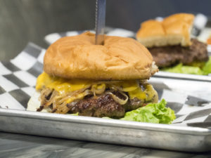 A Burger at at The Miller Grill - photo by Dennis Spielman