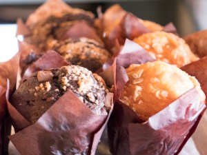 Muffins at Vacca Territory - photo by Dennis Spielman