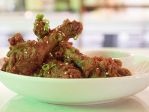 Duck Wings at The Winston - photo by Dennis Spielman