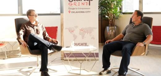 John Kerber at Startup Grind OKC
