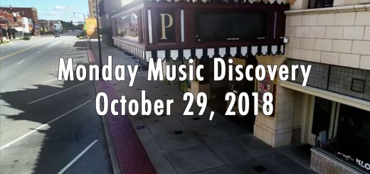 Monday Music Discovery for October 29 2018