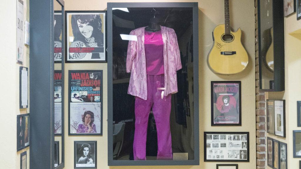 Wanda Jackson display - photo by Dennis Spielman