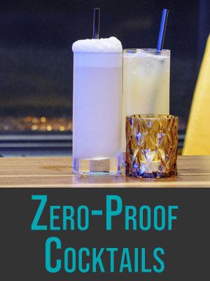 Zero Proof Cocktails
