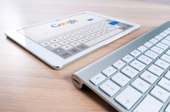 tab and keyboard