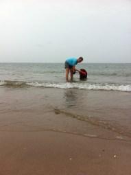 Und das Wasser war wirklich nicht kalt!