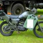 Harley Davidson MT 350E Army Bike