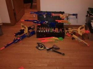 nerf guns for sale HvZ longshot stampede
