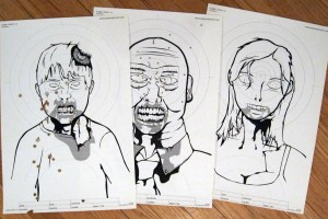 Zombie Shooting Targets (3)
