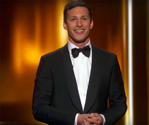 Andy Samber Hosts The 67th Annual Emmys