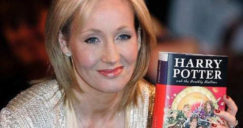 J.K. Rowling author of Harry Potter