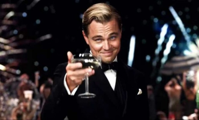 Leonardo DiCaprio in The Great Gatsby