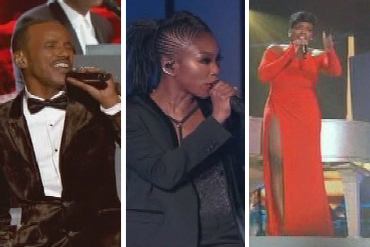 Tevin Campbell, Brandy & Fantasia at The Soul Train Music Awards
