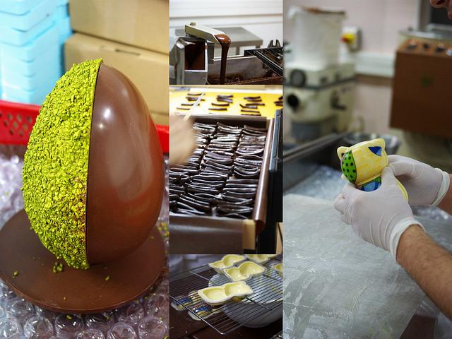 oeufs chocolat chaton Chapon manufacture Chelles