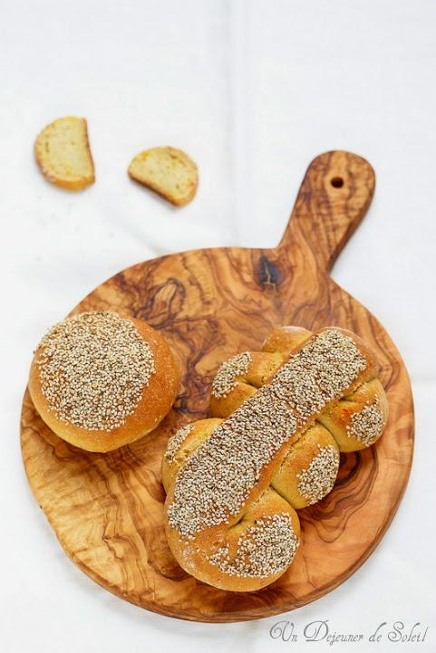Pain sicilien au blé dur et sésame