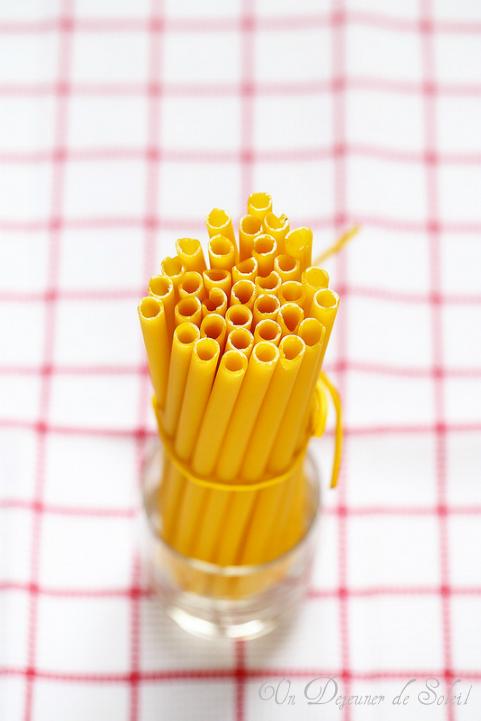 Ziti format de pâtes italien