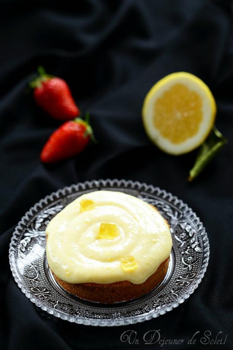 Tarte au citron (avec frangipane et crème citron chocolat blanc) - Lemon pie