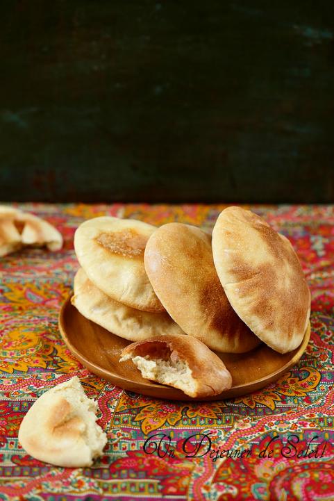 Pain pita maison facile - Pita bread how to make it