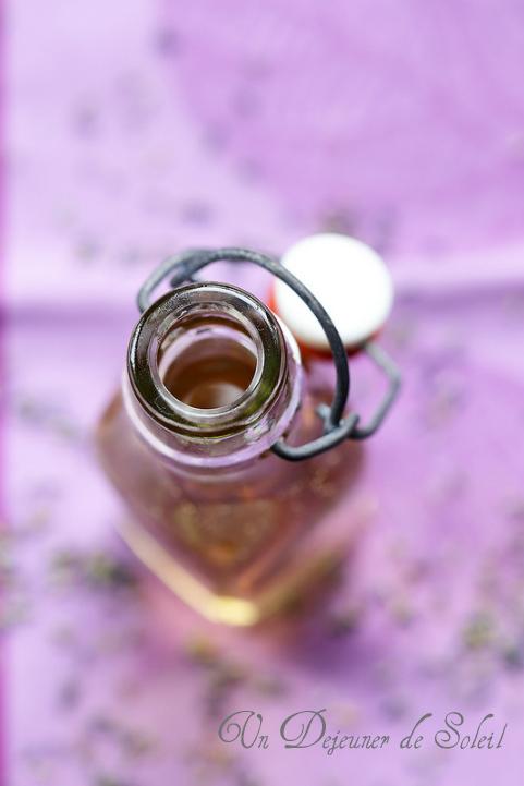Sirop de lavande - Lavender syrup