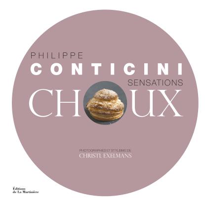 Avis sur le livre Sensations Choux de Philippe Conticini