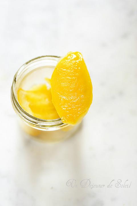 Citrons confits recette facile
