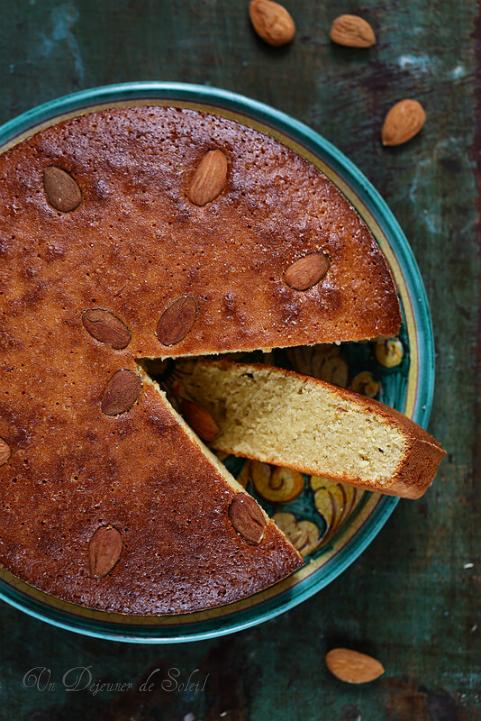 Pain de Gênes : gâteau aux amandes