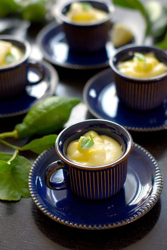 Crème pâtissière au citron et limoncello