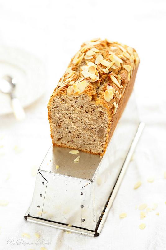 Cake fondant aux amandes