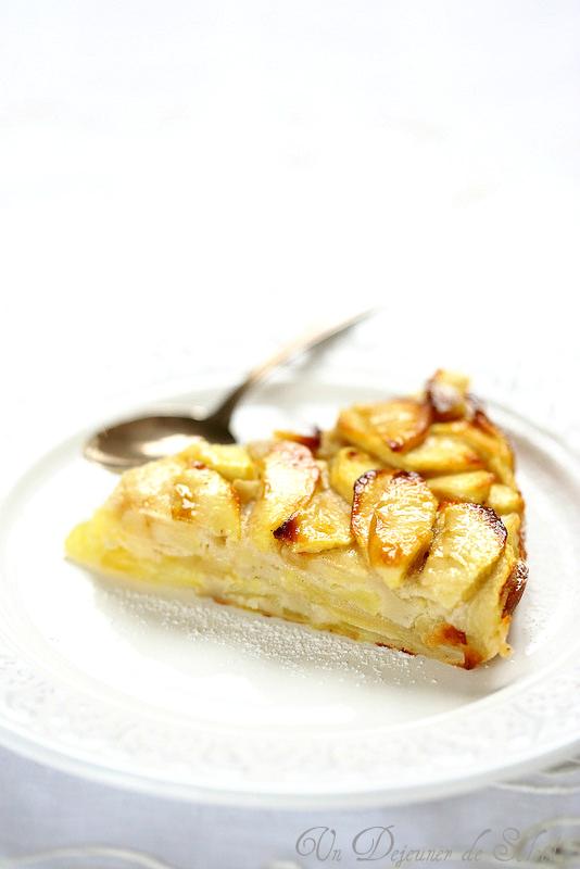 Gâteau invisible aux pommes - Un déjeuner de soleil