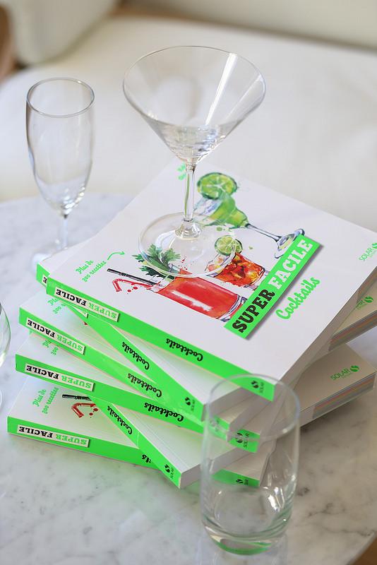 Les gagnants de mon livre Cocktails Super Facile de Edda Onorato