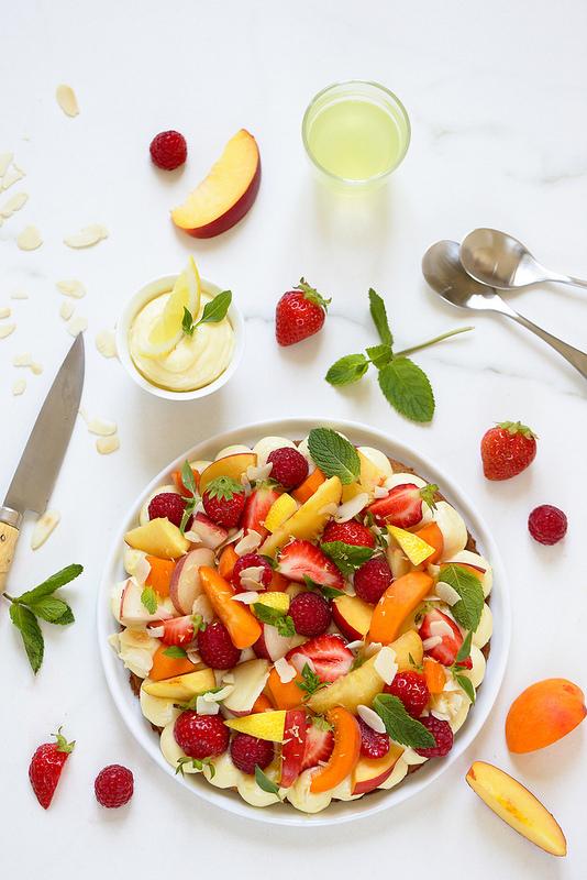 Tarte fruits italienne
