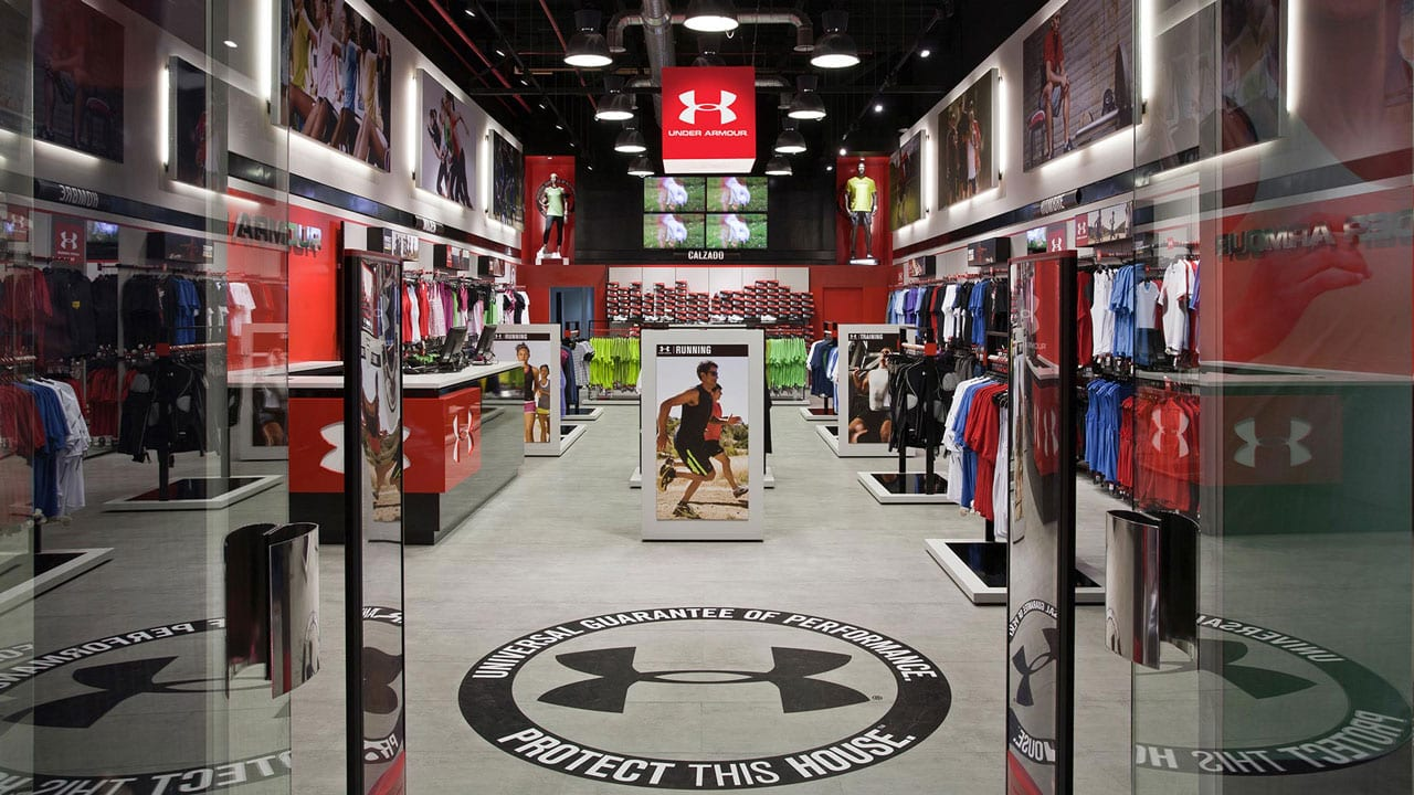 Under Armour | Trouver un point de vente