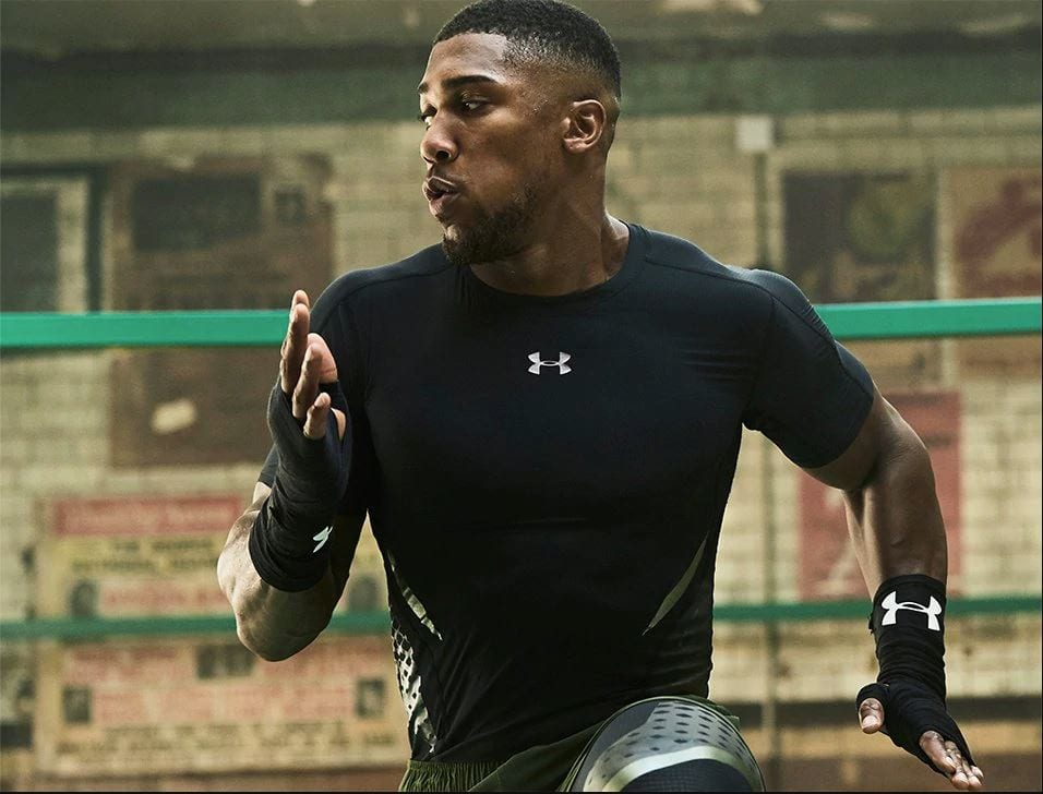 Anthony Joshua le portrait d'un boxeur Under Armour FR