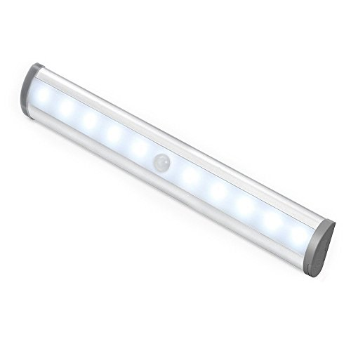 le led closet light motion sensing under cabinet lighting 10led wireless stick