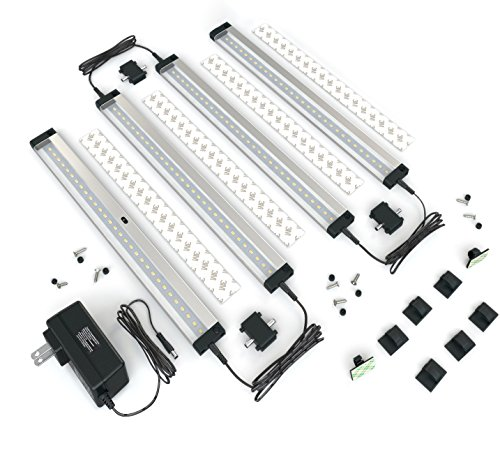 Lovely [New] EShine 4 Panels LED Dimmable Under Cabinet Lighting Kit! Hand Wave  Activated
