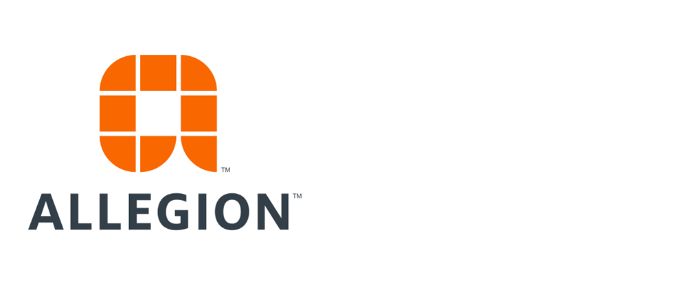 New Logo, Identity, and Name for Allegion by Lippincott