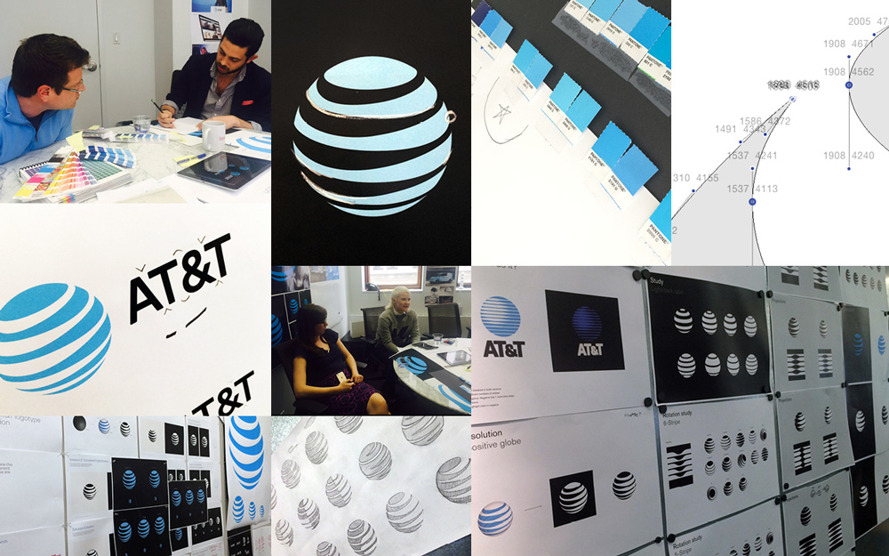 New Logo and Identity for AT&T by Interbrand