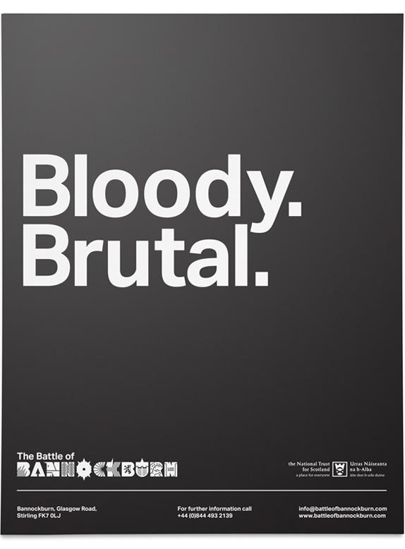 Battle of Bannockburn Logo and Identity