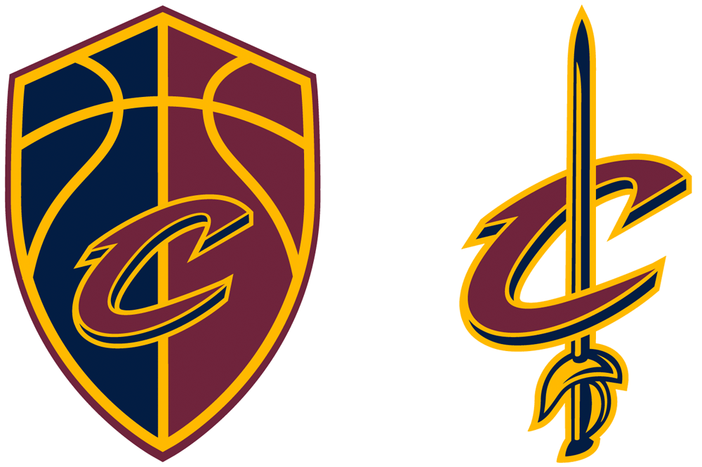 New Logos for Cleveland Cavaliers by Nike Identity Group