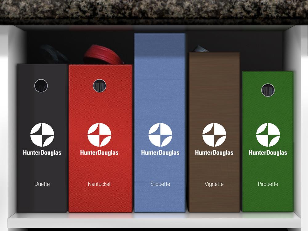 Brand New New Logo For HunterDouglas By Chermayeff