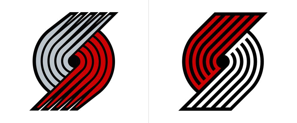 New Logo for Portland Trail Blazers