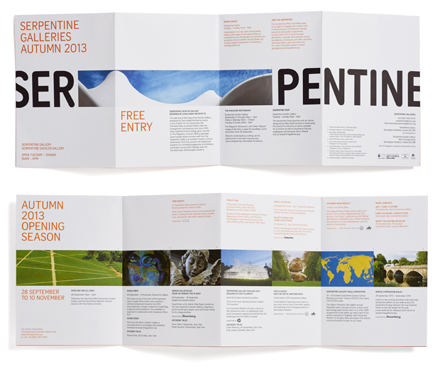 New Logo for Serpentine Galleries by Pentagram