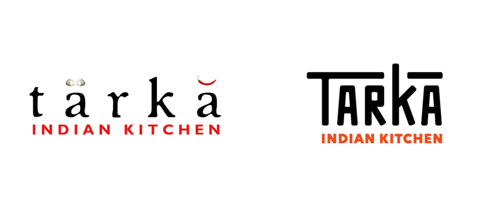 New Logo and Identity for Tarka Indian Kitchen by Wall-to-Wall Studios