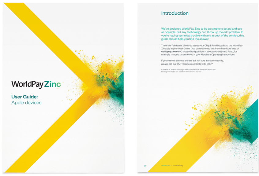 New identity for WorldPay Zinc by SomeOne