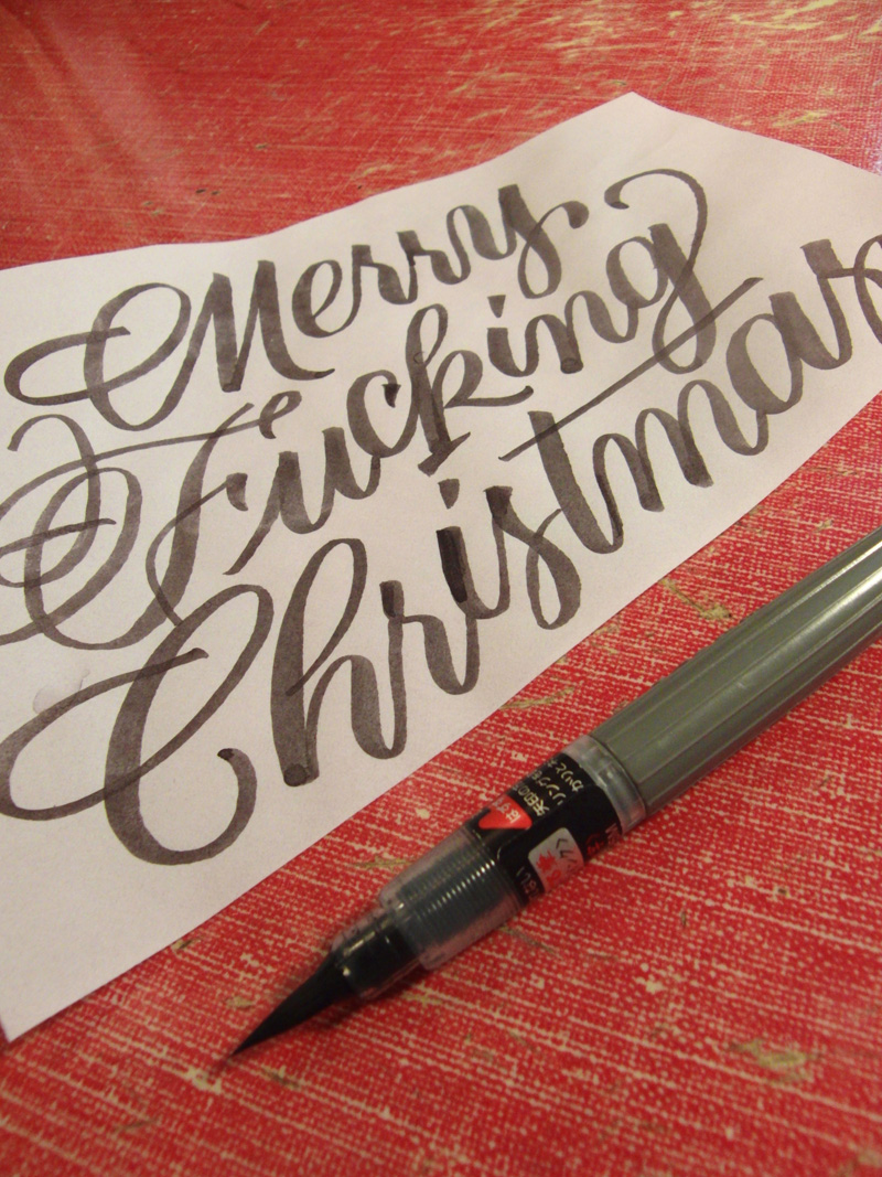 FPO Merry Fucking Christmas