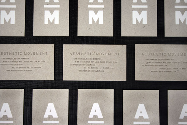 FPO Aesthetic Movement Stationery System
