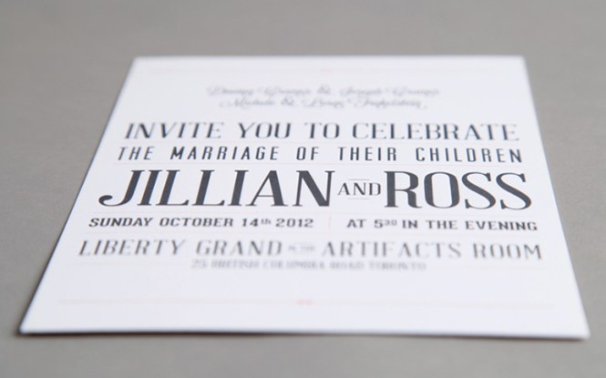 Typography Wedding Invitations To Create Your Invitation With Smart Design 9