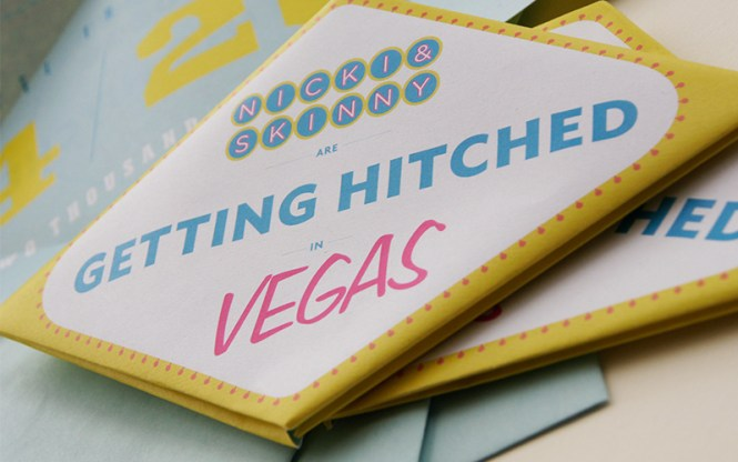 Nicki Skinny 39 S Vegas Wedding Invites