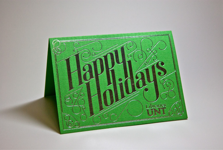 FPO University Of North Texas Libraries Christmas Card