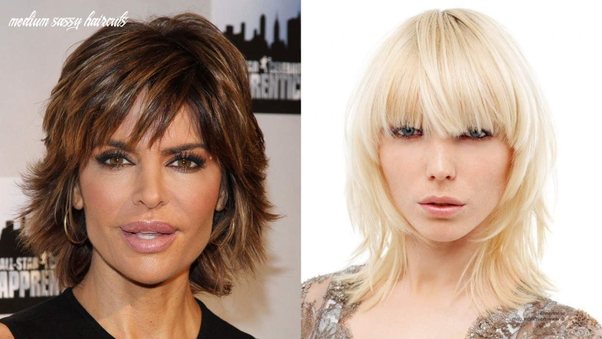 10 sassy and sultry medium shaggy hairstyles haircuts
