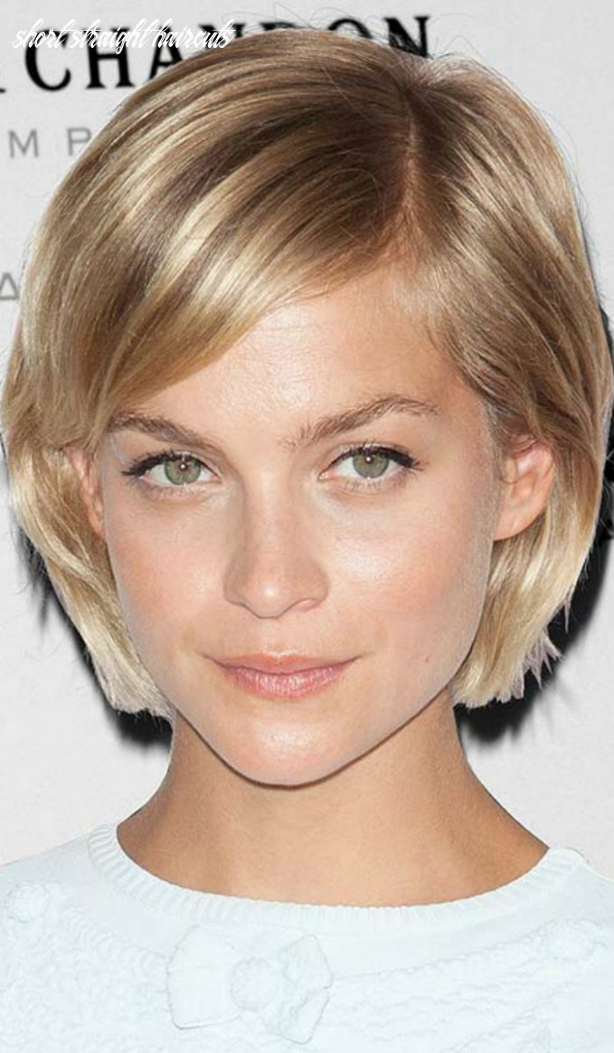 11 gorgeous short straight hairstyles that will inspire you